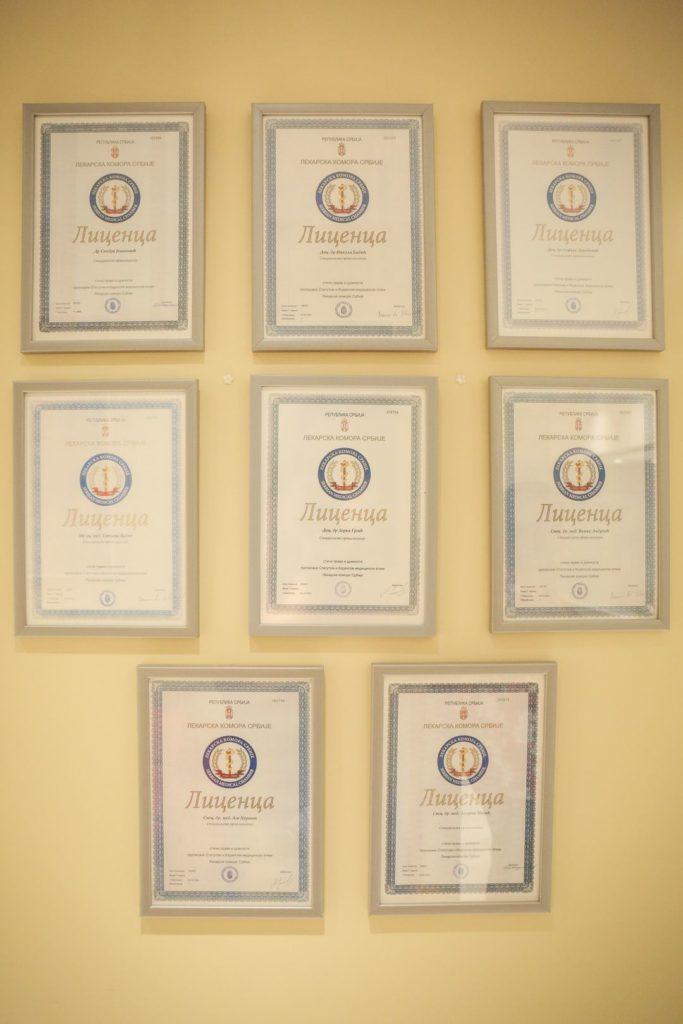Licence Lekarske Komore Srbije